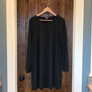Madewell sand washed swingy tee dress, XL